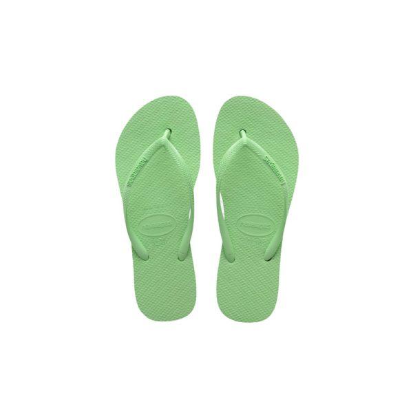 Σαγιονάρες Havaianas Slim Platform Hydro Green – 4144537-1404