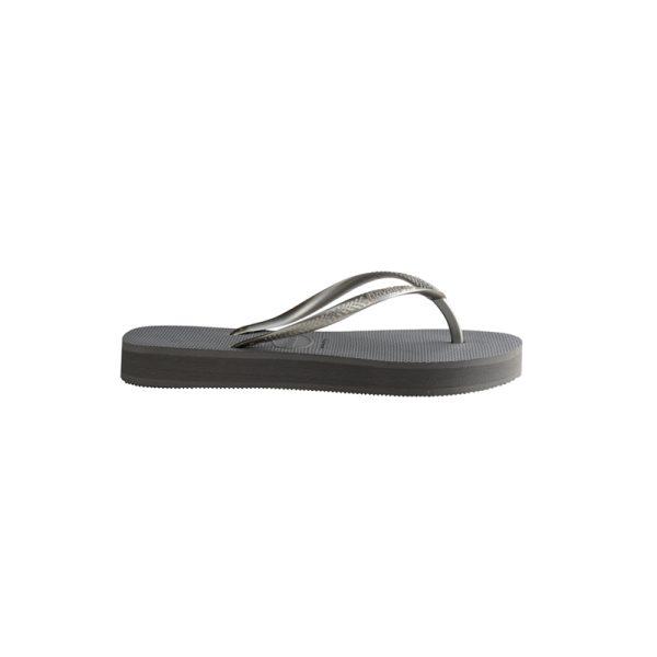 Σαγιονάρες Havaianas Slim Platform Steel Grey – 4144537-5178