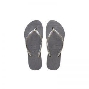Σαγιονάρες Havaianas Slim Steel Grey - 4144537-5178