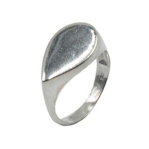Δαχτυλίδι Ασημένιο με Σχέδιο – MINM11