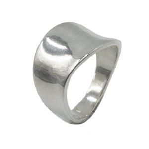 Δαχτυλίδι Ασημένιο με Σχέδιο – MINM12