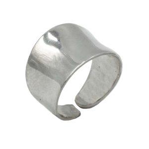Δαχτυλίδι Ασημένιο με Σχέδιο – MINM13