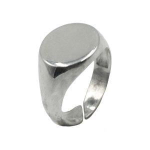 Δαχτυλίδι Ασημένιο με Σχέδιο – MINM14