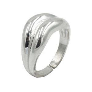 Δαχτυλίδι Ασημένιο με Σχέδιο – MINM15
