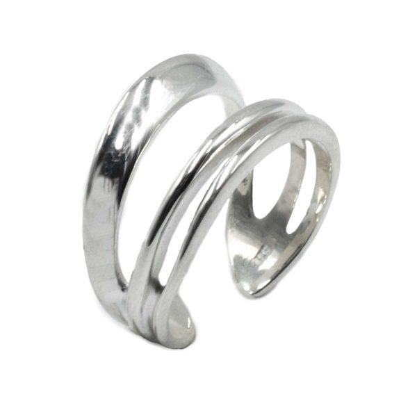 Δαχτυλίδι Ασημένιο με Σχέδιο – MINM5