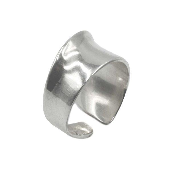 Δαχτυλίδι Ασημένιο με Σχέδιο – MINM6