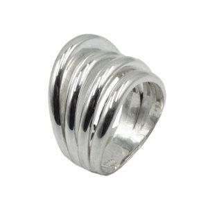 Δαχτυλίδι Ασημένιο με Σχέδιο – MINM8