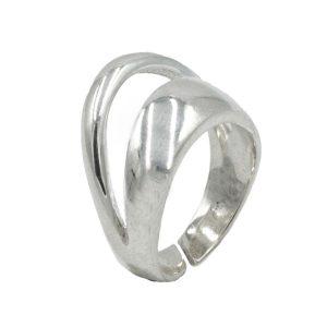 Δαχτυλίδι Ασημένιο με Σχέδιο – MINM9